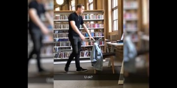 Student breakdown in Library
