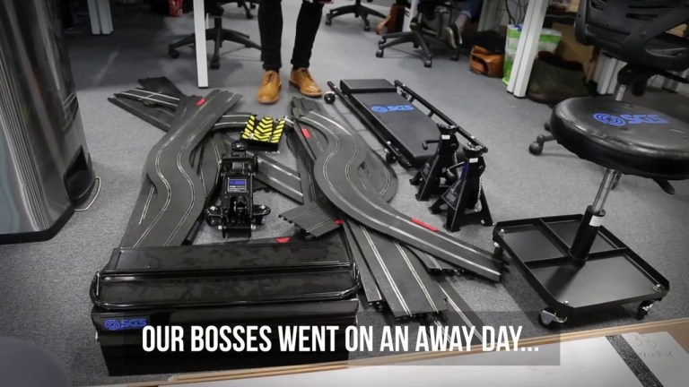 Office track racing