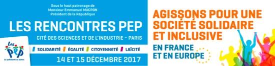 """xw4ps - Les 4èmes Rencontres PEP sur le thème : """"Agissons pour une société solidaire & inclusive"""""""