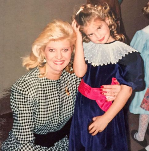 Иванка Мари Трамп / Ivanka Marie Trump и её мать Ивана. фото