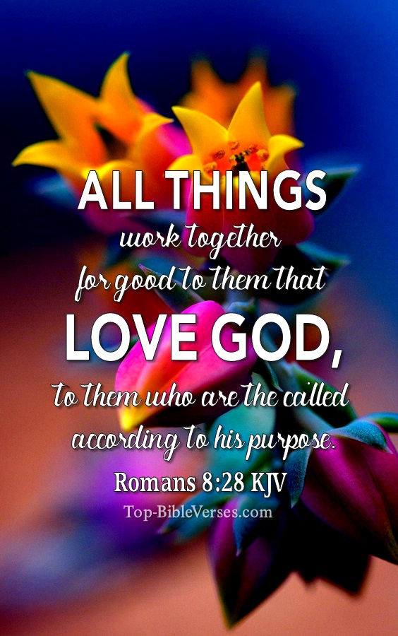 Romans 8:28 All Things Work Together For Good | Christian Wallpapers