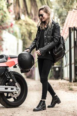 motorbike gang fashion