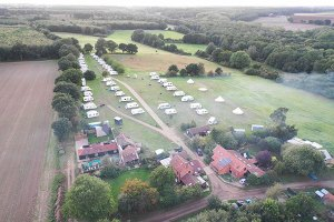 Top Farm camping and glamping site