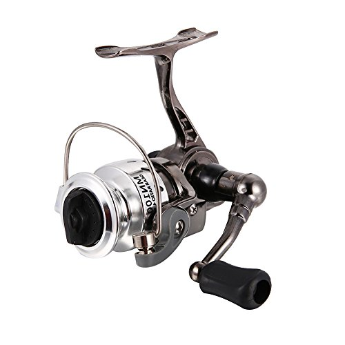 Isafish Spinning Reel Light Weight Ultra Smooth Powerful Spinning Fishing Reels