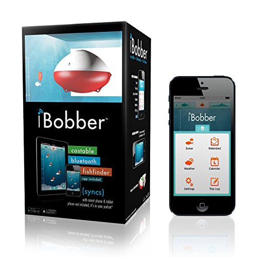 iBobber Wireless Bluetooth Smart Fish Finder for iOS and Android devices.