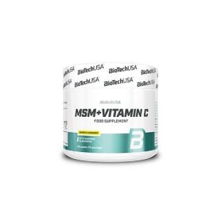 BioTech-USA-MSM+Vitamin-C-150g