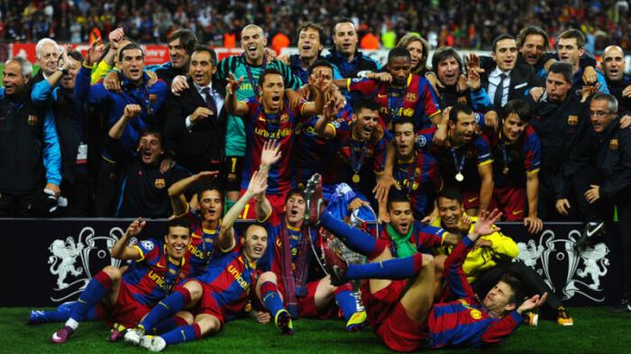 Барселона четырёхкратный победитель Лиги Чемпионов