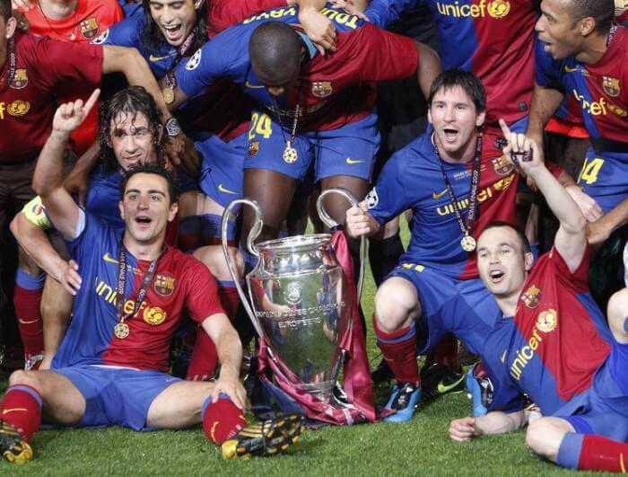 Барселона - победитель Лиги Чемпионов 2006