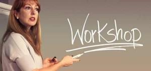 Frau im Workshop