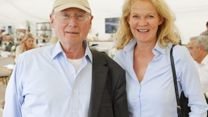 Stefan Aust mit Ehefrau Katrin Hinrichs-Aust. Foto: Melanie Dreysse