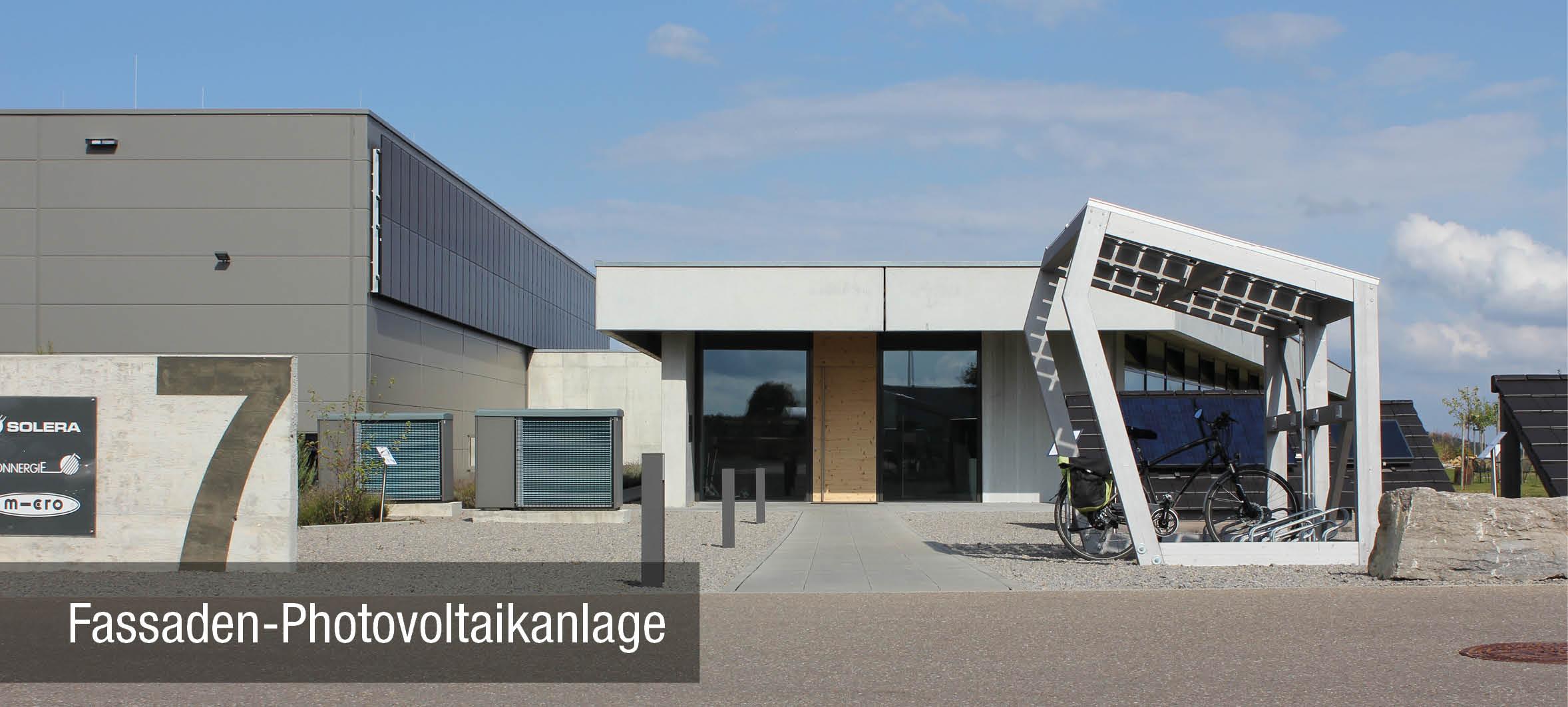 Fassaden Photovoltaikanlage