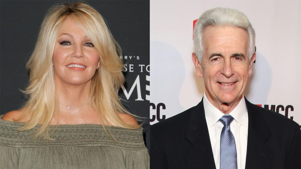 Heather Locklear says James Naughton not to blame for 'gross' moment while filming 'First Wives Club'