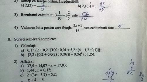 teza matematica