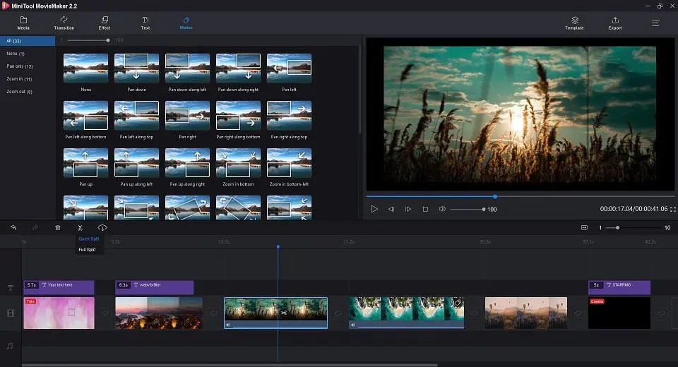 MiniTool MovieMaker A Free and Simple To Use MovieMaker 3 Top10.Digital