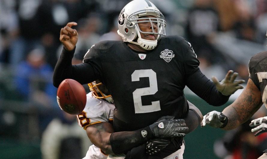 JaMarcus Russell: #3 NFL Draft Bust