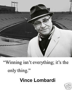 Winning Isn't Everything (or is it?)