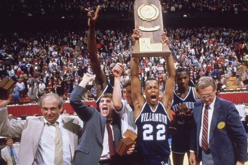Villanova Wildcats 1985 champions