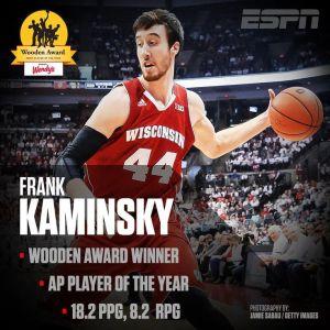 2015 NBA DRAFT - FRANK KAMINSKY