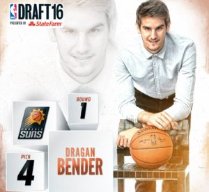 2016 NBA Draft dragan bender