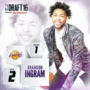2016 NBA Draft brandon ingram