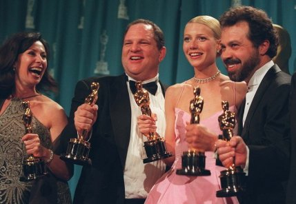 HARVEY WEINSTEIN / GWYNETH PALTROW ON OSCAR NIGHT