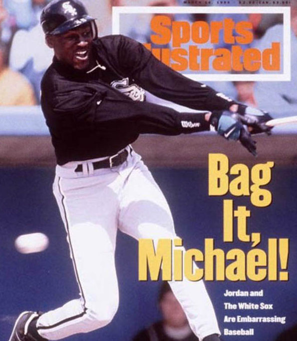 Michael Jordan - Top 10 MLB Bust