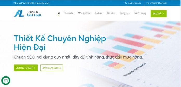 Công Ty Thiết Kế Website ÁNH LINH