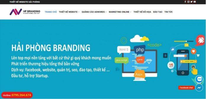 Công Ty Thiết Kế Website Hải Phòng Branding