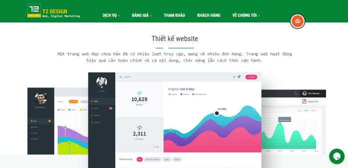 Công Ty Thiết Kế Website T2 DESIGN