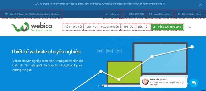 Công Ty Thiết Kế Website - WEBICO