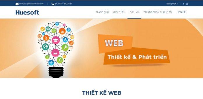 Công Ty Thiết Kế Website HUESOFT