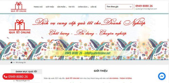 Công ty cung cấp giỏ quà tết cho doanh nghiệp MINH AN