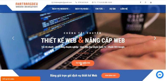 Công ty thiết kế Website Nha Trang Dev