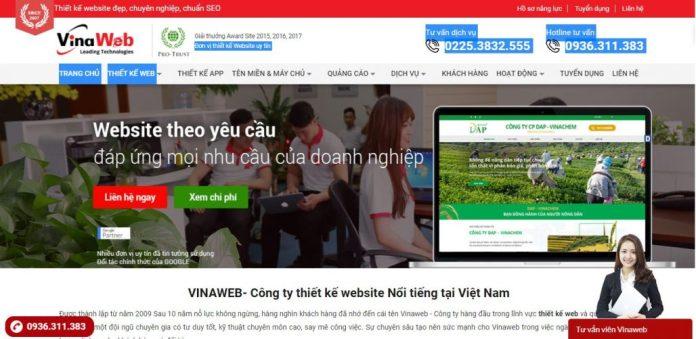 Công Ty Thiết Kế Website Vinaweb