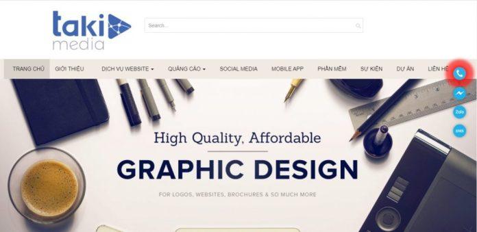 Công Ty Thiết Kế Website Takimedia.com