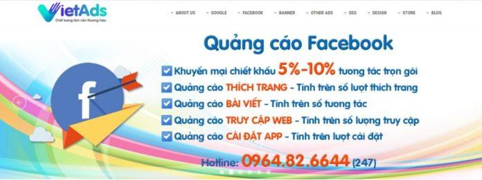 Công ty chạy quảng cáo Facebook Việt Ads