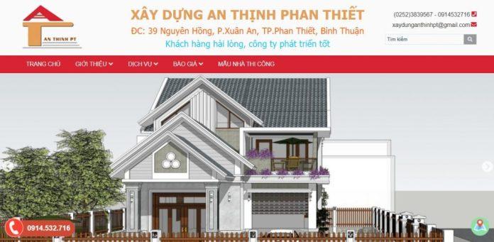 Công ty xây dựng nhà An Thịnh Phan Thiết