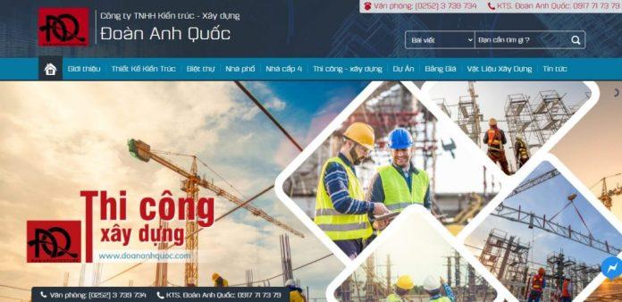 Công ty xây dựng nhà Đoàn Anh Quốc