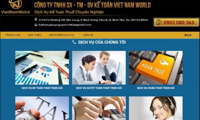 Công ty dịch vụ kế toán Viet Nam Word