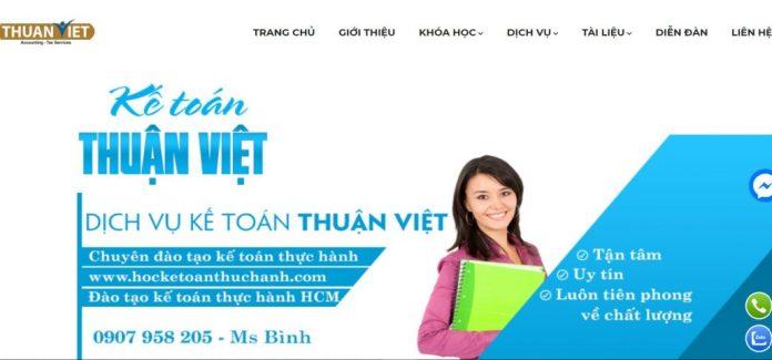 Công ty kế toán Thuận Việt