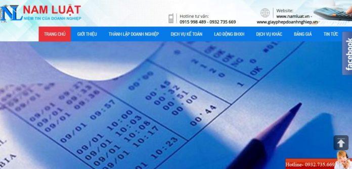 Công ty kế toán thuế Nam Luật