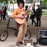"Street Guitarist Tackles ""Stairway To Heaven"""