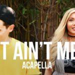 "Mike Tompkins ft. Samantha Harvey | ""It Ain't Me"" cover (Kygo & Selena Gomez)"