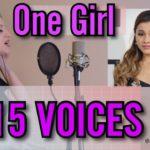 Angelina Alexon One Girl 15 Voices