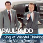 "Jimmy Fallon & Paul Rudd Remake Go West ""King Of Wishful Thinking"" Video"