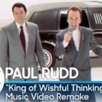 "Jimmy Fallon & Paul Rudd Remake Go West ""King Of Wishful Thinking"" Video"