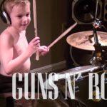 Avery Molek | 6 Year Old Drummer Simply Rocks