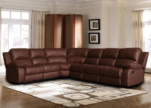 Best Leather Reclining Sofas Divano Roma Reclining Corner Sectional Sofa