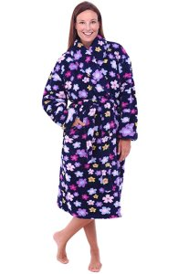 Del Rossa Women's Fleece Robe