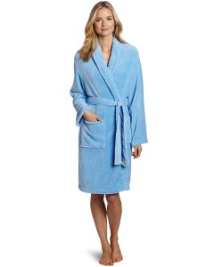 Best Robes Seven Apparel Hotel Spa Collection Herringbone Textured Plush Robe